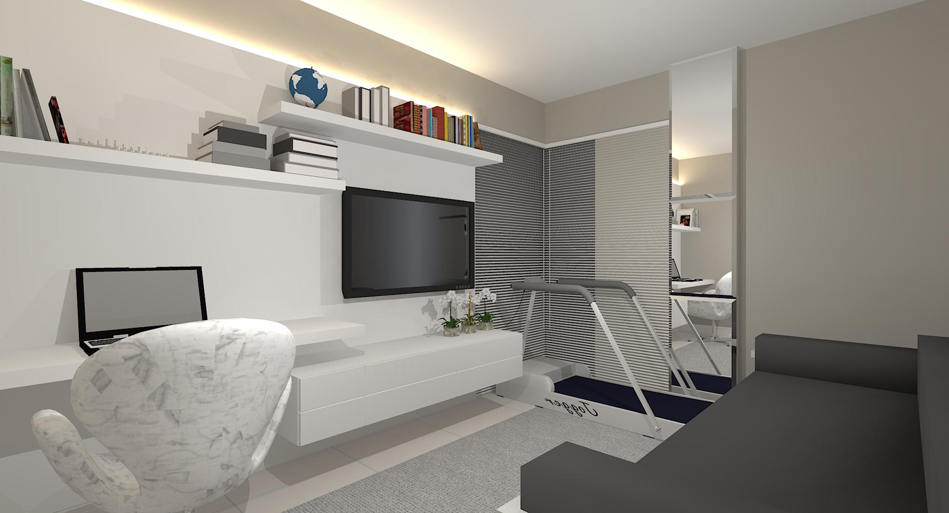 #63463B com sala de jantar sala de estar e quarto juntos # decoracao de sala  1850x1000 píxeis em Decoração Sala De Estar Rack